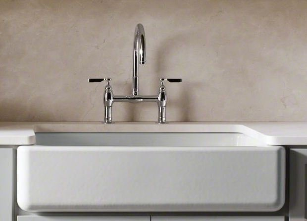 Kohler cast iron belfast sink