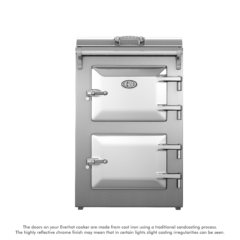 Everhot 60 cooker in Stainless Steel