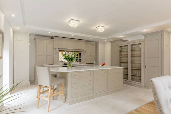 Christopher Howard kitchen in shades of beige and grey