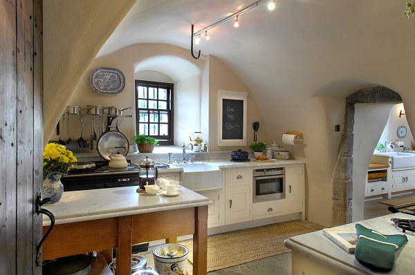 Christopher Howard kitchen in a Scottish Castle