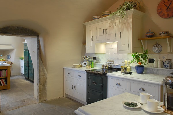 Christopher Howard kitchen with Green AGA module