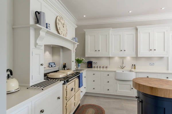 Christopher Hoard kitchen with cream AGA