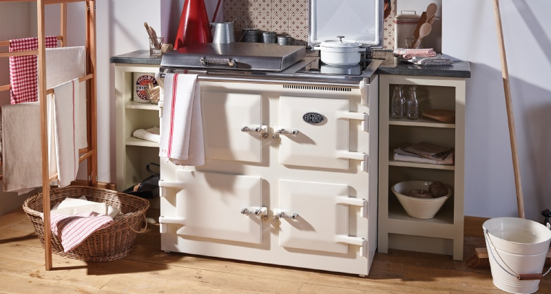Everhot 100 cooker in Cream