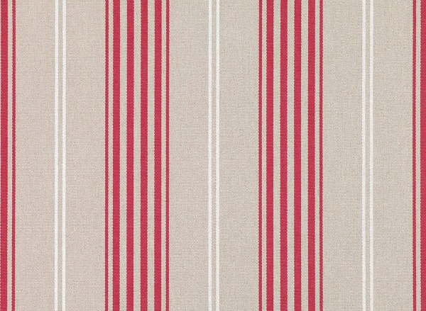 Romo Red Tulip stripes