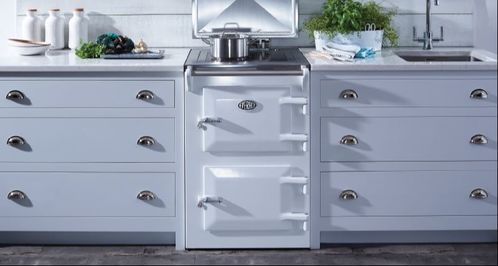 Everhot 60 cooker in white