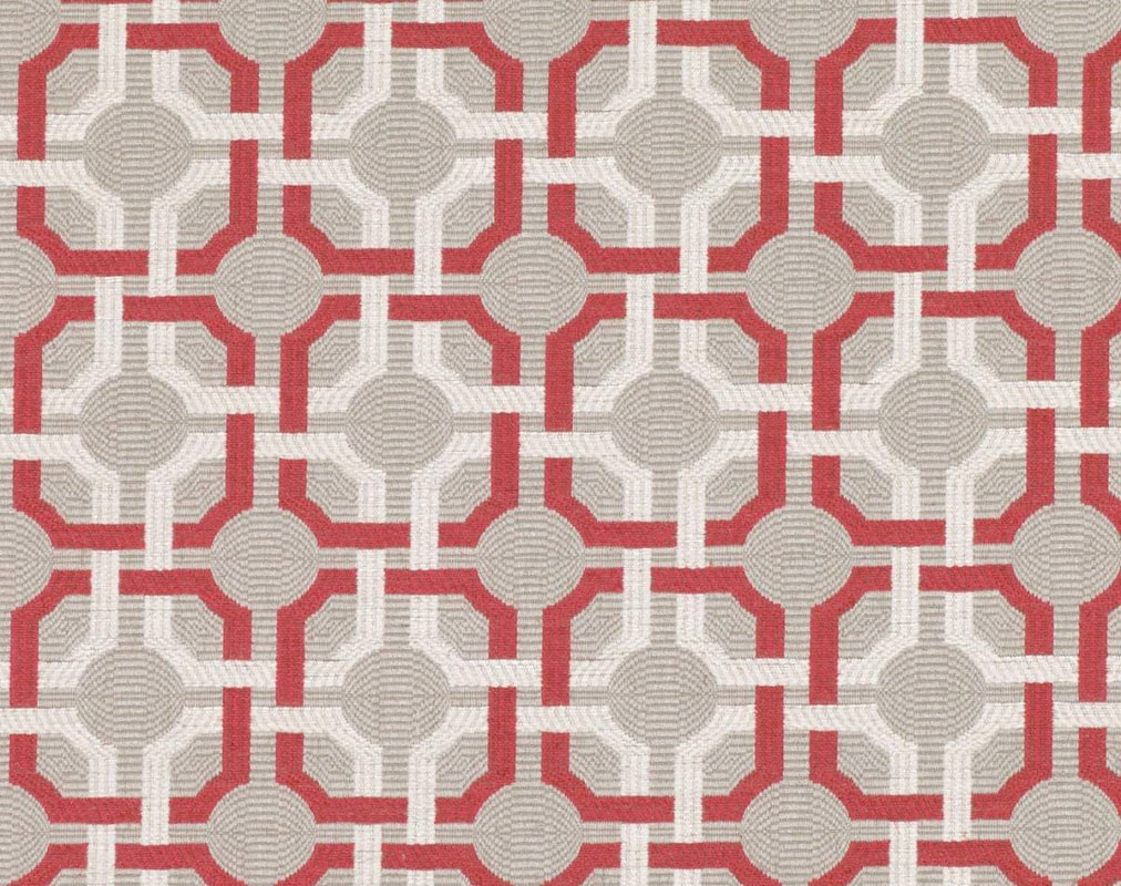 Romo Orton Red Tulip fabric